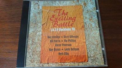 J.A.T.P. Stockholm '55 THE EXCITING BATTLE 經典中的經典爵士發燒現場錄音盤德國版AAD錄音直逼LP黑膠音