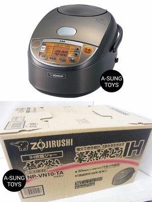 【空運】 zojirushi 象印 NP-VN10 黑圓厚釜內鍋 IH電子鍋 6人份 六人份 電鍋 IH電鍋 IH炊飯器
