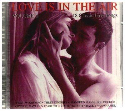 **新尚唱片**  LOVE IS IN THE AIR 二手品-F628
