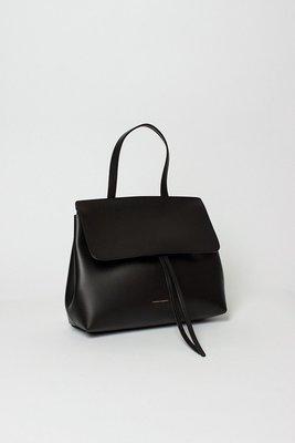 NETSHOP MANSUR GAVRIEL Mini lady bag flamma 經典黑內裡紅~義大利製
