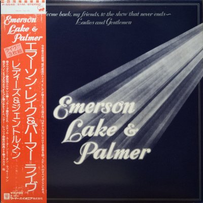 §小宋唱片§ 日版/Emerson Lake&Palmer-Welcome Back, My Friends../3片裝