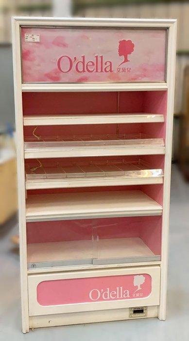 【宏品二手家具】 台中全新中古傢俱家電最便宜 D31613*粉色展示櫃*衣櫃/高低櫃/置物櫃/電視櫃/矮櫃/平面櫃