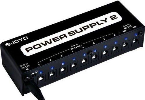 ☆ 唐尼樂器︵☆ Joyo JP-02 電吉他/電貝斯 Bass 單顆效果器電源供應器(供8顆9V/1顆12V/1顆18V)