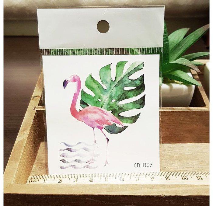 【萌古屋】火鶴CD-007 - 防水紋身貼紙刺青貼紙K12