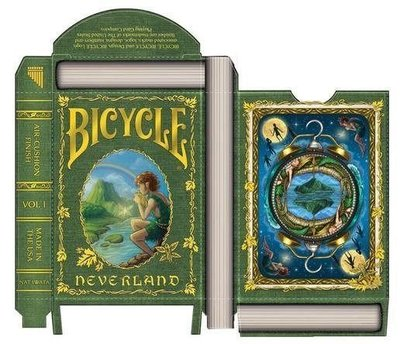 【USPCC撲克】Bicycle neverland unlimited Playing Cards