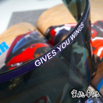 SHOEI X14 X12 Z7 馬奎斯 簽名 93號頭盔 鏡片貼紙 競技鏡片 貼紙#機車貼紙#電動貼紙#改裝葉子親貨鋪