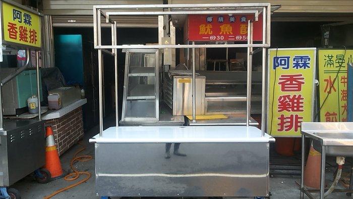 南門二手餐飲設備大賣場格外訂製組合車台