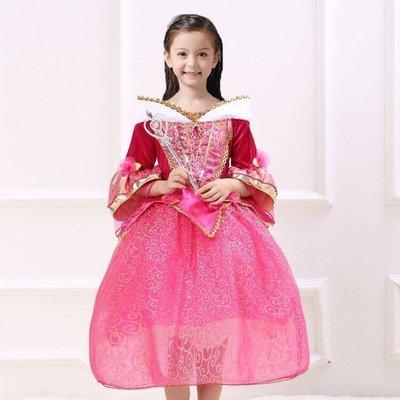 2017年爆款新款睡美人愛洛公主裙秋冬兒童連衣裙舞台表演服萬聖節服裝