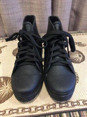 清鞋櫃 雨鞋 短靴 帥氣 黑 Hunter款 (非hunter)
