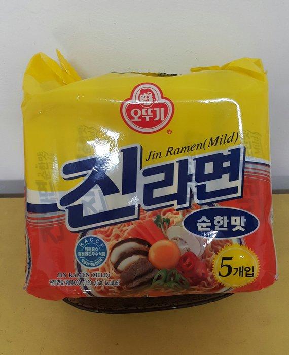 ~魔寶窩~韓國不倒翁金拉麵,原味,一袋五包