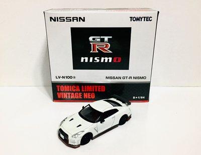 全新 Tomy Tomica Tomytec Limited LV-N100a 日產 Nissan GTR35 NISMO 限定版