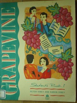 【英文書】-- Studentss Book 1 -- Grapevine --***愛麗絲夢遊*** --英35