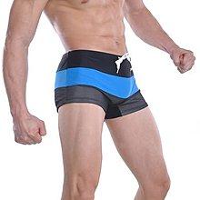 APPLE JUICY【ZS-193】MAN AWARE 新款網眼強加排水孔速乾四角泳褲 L XL 號