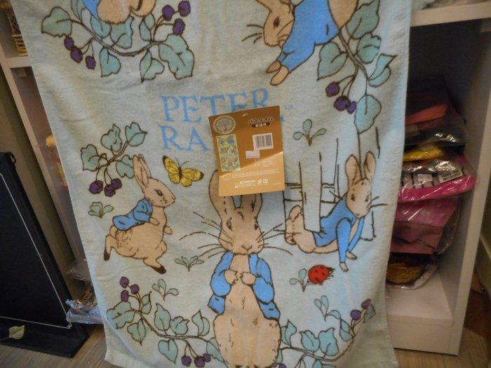 ~~凡爾賽生活精品~~全新日本進口比得兔花園造型浴巾