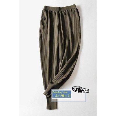 時尚針織彈力哈倫縮口小腳褲 顯瘦休閒運動九分褲/ 束口褲 Club Monaco、UNIQLO 2件免運
