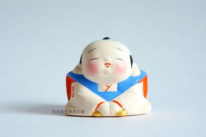 [ 洛克索克專賣本舖 ] 日本福助先生陶土擺飾 開運擺飾 開運招福 招財 日本空運 全新現貨 日本製 日本福神 傳統人形