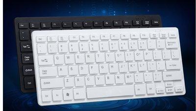 ~婷婷小屋~斯波特K115有線鍵盤鼠標迷妳鍵盤小鍵盤筆記本臺式電腦USB巧克力