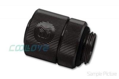 小白的生活工場*EK-CSQ Fitting 10/13mm G1/4 -Black (酷黑,3分薄管用)