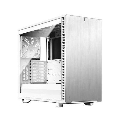 *硬派精璽*Fractal Design Define 7 Clear機殼鋼化玻璃版白色000309000085