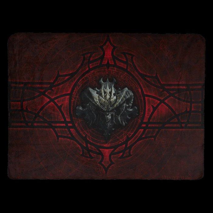 【丹】暴雪商城_Diablo Throw Blanket 暗黑破壞神 毛毯 涼被 毯子