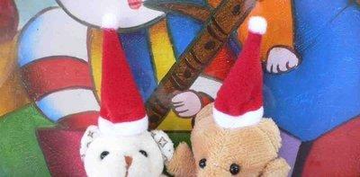 ~3cm玩偶迷你聖誕帽~500個1800元免運~婚禮小物二次進場送客禮贈品婚宴囍糖來店迎賓禮