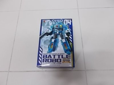全新未開 ACTION TOYS Machine Robo 天威勇士  百變雄獅 Battle Robo 04