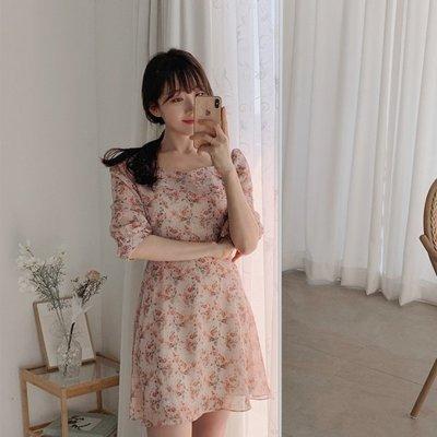 【ZEU'S】小清新甜美碎花洋裝『 05120614 』【現+預】E