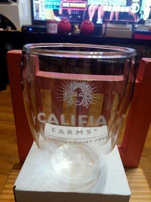 【CALIFIA FARMS 玻璃杯$199含運】