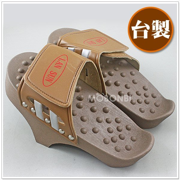 【摩邦比】台灣製拉筋鞋 提筋板 提筋鞋 按摩鞋 健康鞋 瘦腿 養生鞋 瑜珈提筋 瑜伽拉筋 M-60