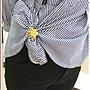 福福百貨~買2送1日韓三環絲巾扣環時尚百搭胸針胸花女別針披肩扣圍巾簡約飾品~