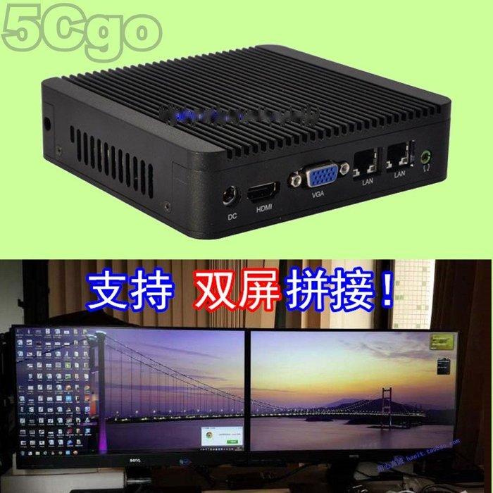5Cgo【權宇】掌上型電腦雙網i3-3217U/3227U迷你NUC工控HTPC電腦Ubuntu/CentOS 含稅