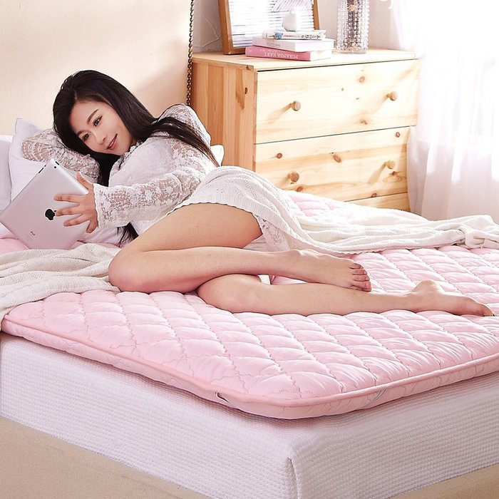 床墊加厚榻榻米床墊子1.8m床1.5米雙人宿舍學生折疊軟床褥子海綿墊被