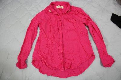 【莉莉小舖】二手Abercrombie & Fitch A&F AF麋鹿長袖襯衫,(女XS)(CV07) 新北市