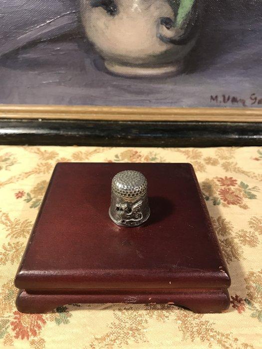 歐洲古物時尚雜貨 金屬頂針 造型頂針 BALA飛禽 縫紉飾品 指套 擺飾品 古董收藏