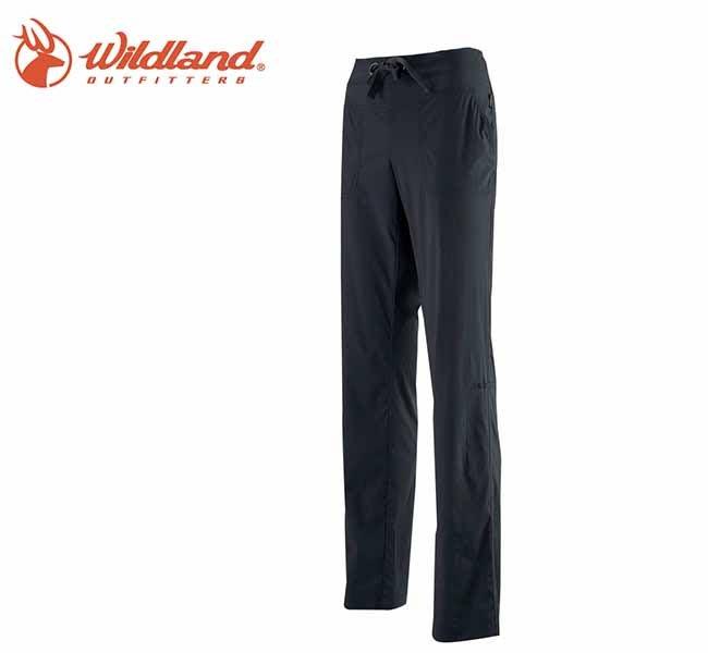 丹大戶外【Wildland】荒野 女彈性抗UV休閒長褲 0A11321-93 深灰色