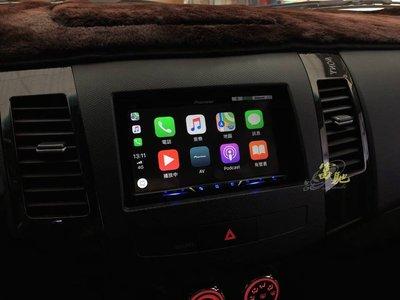 富馳汽車音響三菱 Outlander 改裝先鋒 PIONEER AVH-Z5150BT 7吋DVD車用影音主機