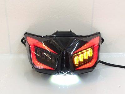 合豐源 車燈 YAMAHA 新 N BWS R LED 導光 條 燻黑 尾燈 後燈 方向燈 小燈 火鳥 銳眼 大B