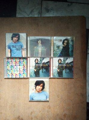 早期知名影視歌星任賢齊的CD七盒一組,非常希少