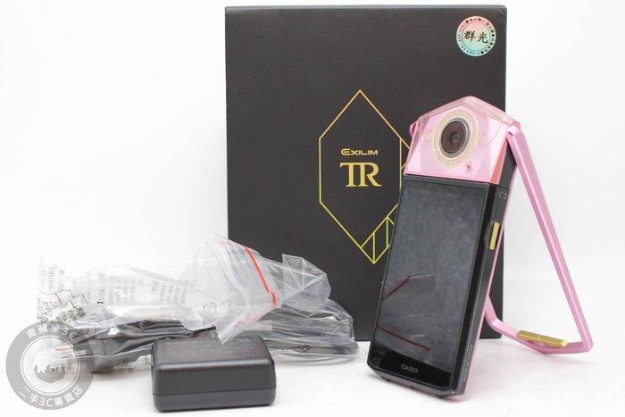 【高雄青蘋果3C】CASIO EX-TR80 TR-80 粉 自拍相機 公司貨 美機相機 #55398