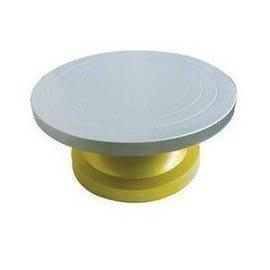 塑鋼蛋糕轉檯 塑膠 不銹鋼 花台 蛋糕轉盤 裱花轉檯 裱花工具-7201005