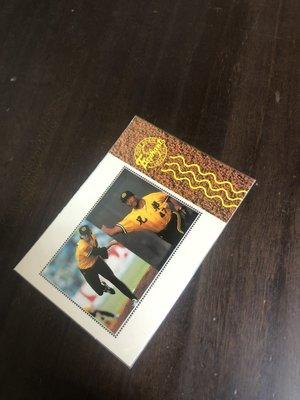 中華職棒   兄弟象  限量3500 張 郵票特卡  NO002372  前後卡況如圖