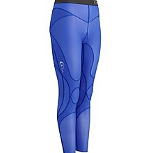 【瘋三鐵】日本 C3fit Impact Long Tights Women's 女款高強機能性壓縮長褲-寶藍【免運費】