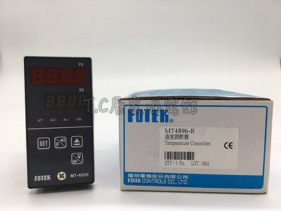 【 T.C水電】陽明 fotek 溫度控制器 溫度調節器 溫控器 MT4896-R