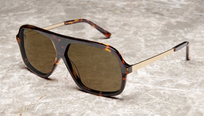 { POISON } 9FIVE CROWNS TORTOISE GOLD 金屬鏡腳 美國西岸風格太陽眼鏡品牌
