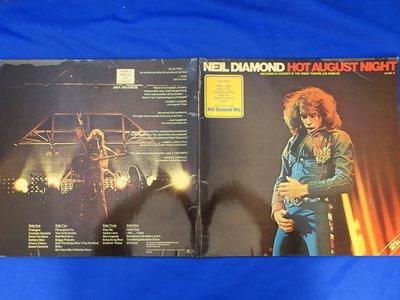 【柯南唱片】Neil Diamond HOT AUGUST NIGHT(尼爾戴蒙)2片裝>> 美版LP