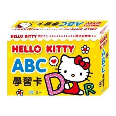 ~阿LIN~78351A Hello Kitty 學習卡 凱蒂貓 abc ㄅㄇㄆ 123
