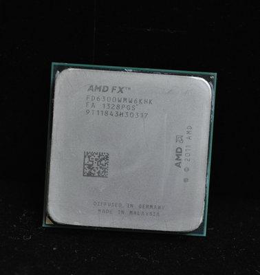 AMD FX-6300 六核盒裝正式版送風扇 (AM3+ 4.1G)非 FX-6100 FX-6120 FX-6200