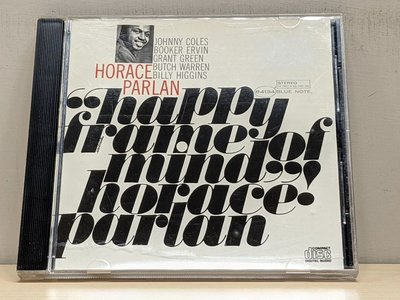 【駱克二手爵士CD】HORACE PARLAN HAPPY FRAME OF MIND 專輯頁黃斑 無IFPI