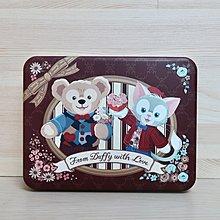 日本迪士尼 達菲 鐵盒  迪士尼鐵盒 絕版