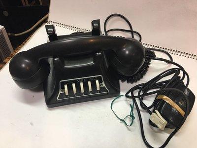 英國 GEC早期古董電話 5位數臺式電話機 (極罕有)英國製造(絕對堅嘢 非仿品)